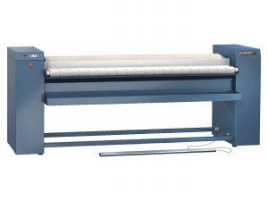 PRI 418 [EL LAM IB RF] Valjak za peglanje, elektro s lamelnim namotom, remenjem i povratom veša
